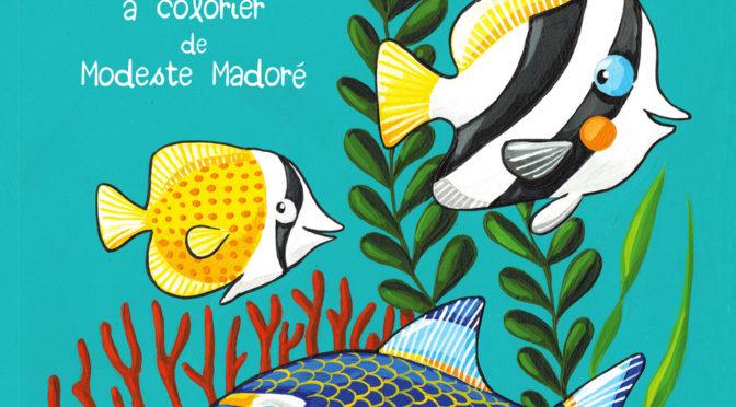 Les fonds marins de La Réunion – Cahier croquis à colorier