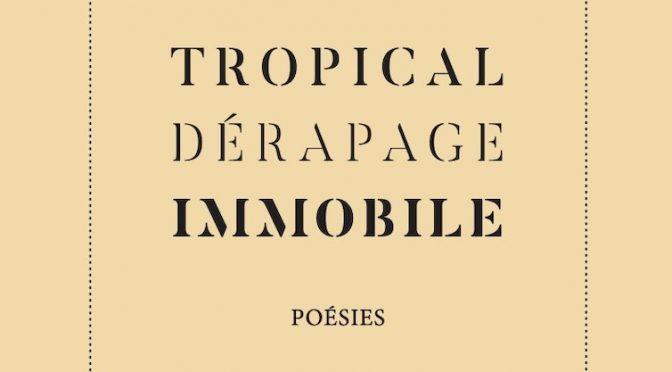 Tropical dérapage immobile – Poésies et dessins