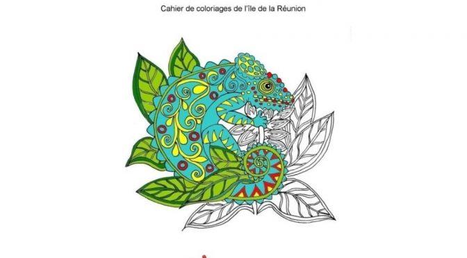 Colorie-moi un caméléon – Cahier de coloriages de l'île de La Réunion