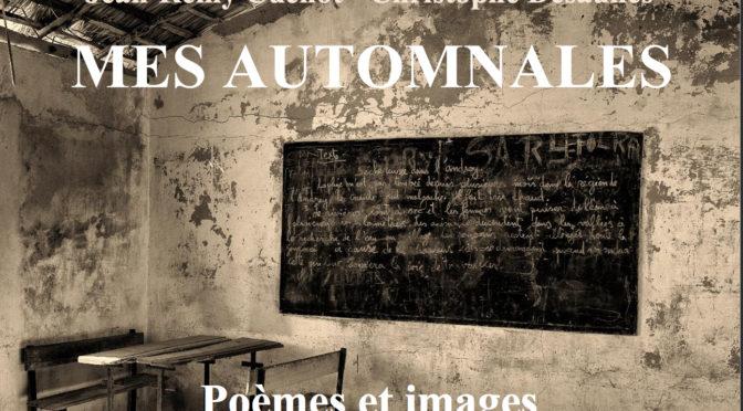 Mes automnales, poèmes et images