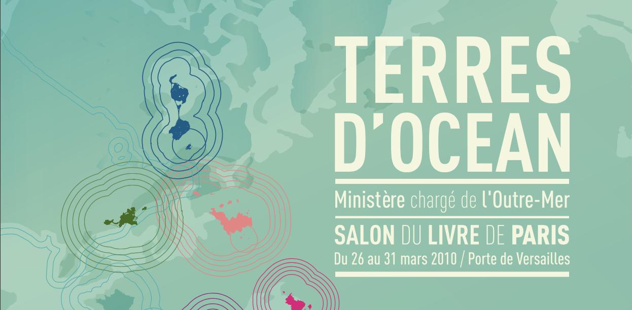 Visuel du ministère chargé de l'outre-mer : Terres d'océan