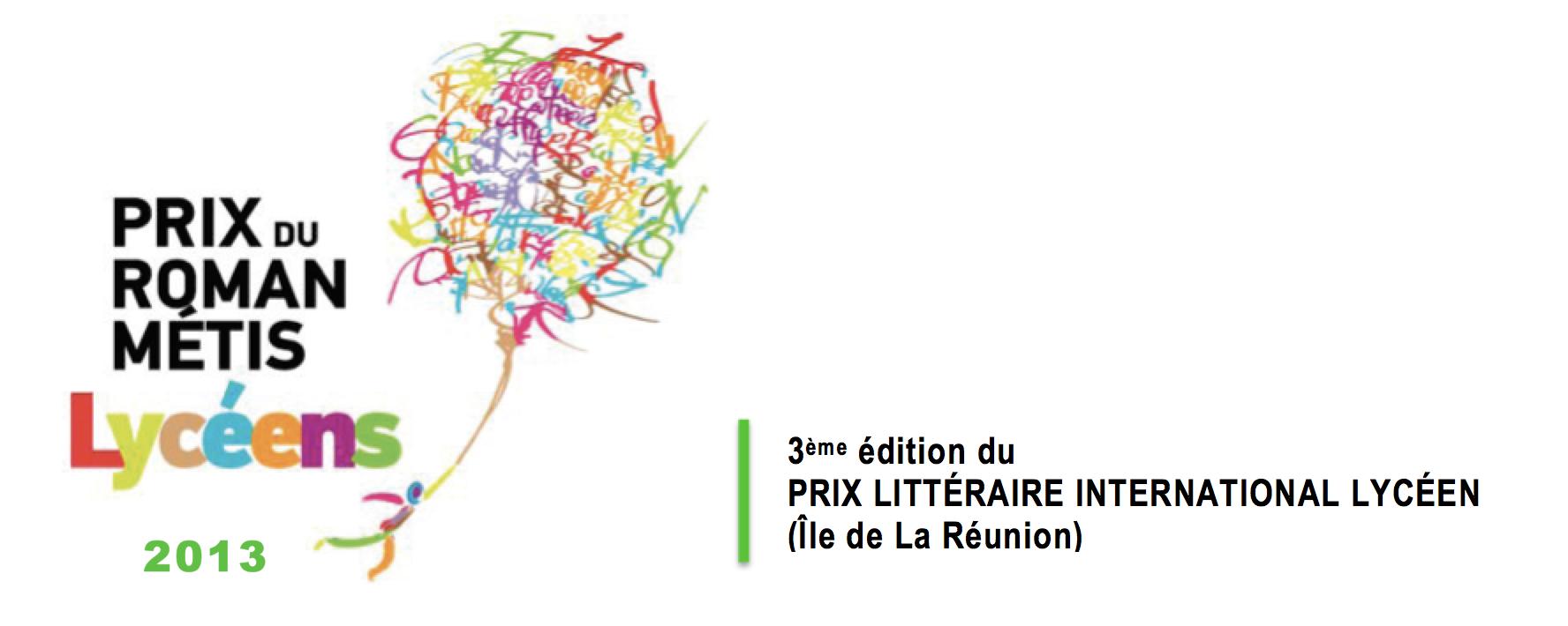 Prix du Roman Métis des Lycéens 2013