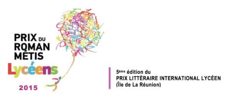 Prix du Roman Métis des Lycéens 2015