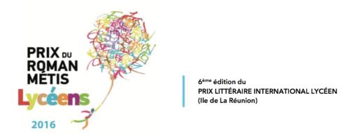 Prix du Roman Métis des Lycéens 2016