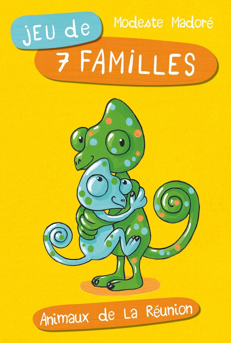 Jeu de 7 familles – Animaux de La Réunion