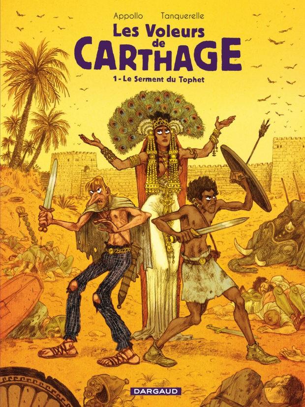 Les voleurs de Carthage – Tome 1 – Le serment du Tophet