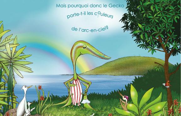 Mais pourquoi donc le gecko porte-t-il les couleurs de l'arc-en-ciel ?