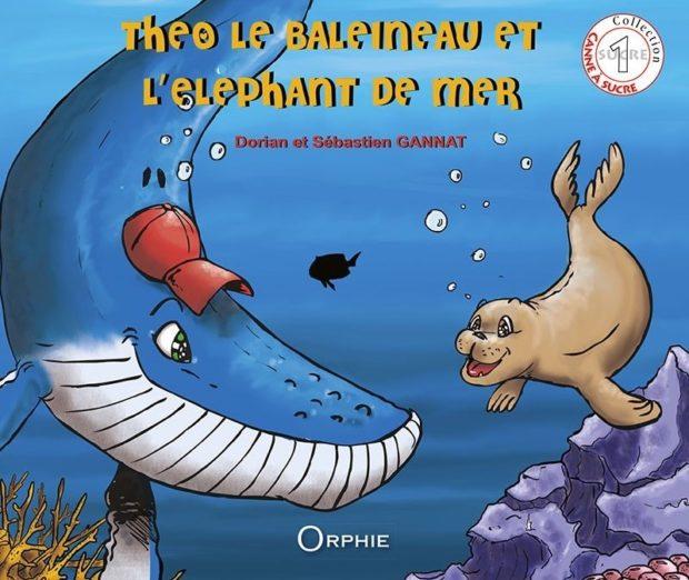 Theo le baleineau et l'éléphant de mer