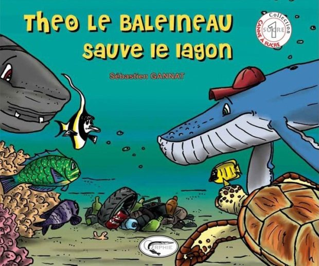 Théo le baleineau sauve le lagon