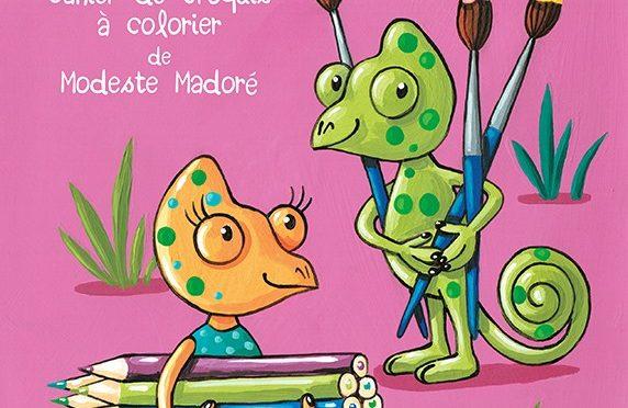 On s'amuse en famille – Cahier de croquis à colorier