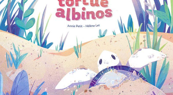 La petite tortue albinos