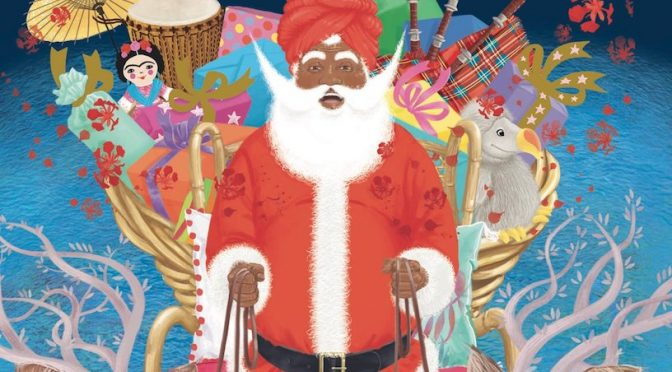 Un flamboyant père Noël