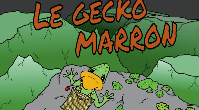 Le Gecko marron