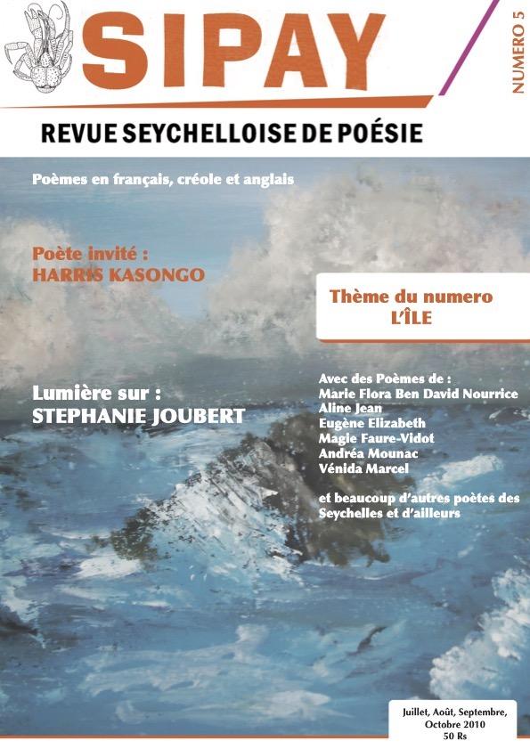 Sipay – Revue seychelloise de poésie – Numéro 5  Exemplaire