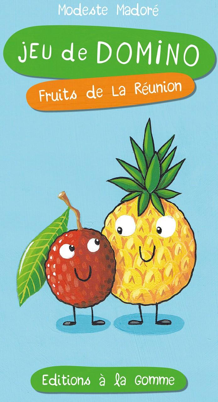 Jeu de domino – Fruits de La Réunion