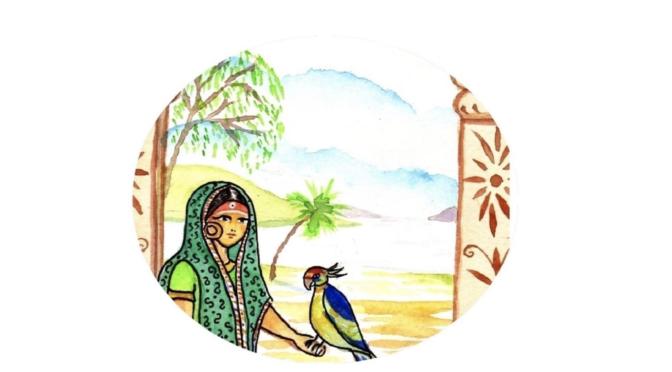 La princesse, le pipal et le perroquet – Conte