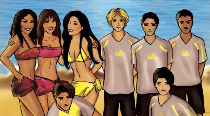 Triana, vacances à l'île de La Réunion – Tome 3 – Beach Soccer, B.Girls et destinée