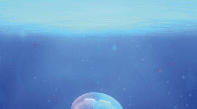 Une méduse au soleil