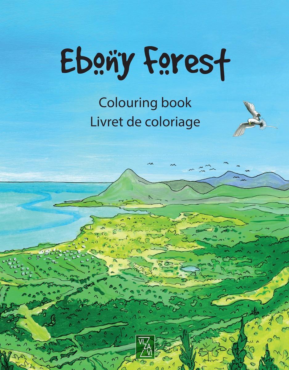 Ebony forest – Colouring book – Livret de coloriage