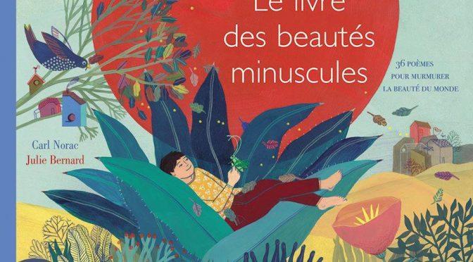 Le livre des beautés minuscules – 36 poèmes pour dire la beauté du monde