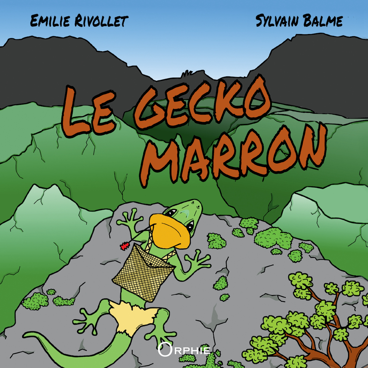 Le Gecko marron