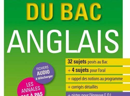 Les sujets du BAC – Anglais – Tles toutes séries  LV1-LV2